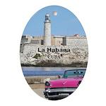 Havana (Cuba) Oval Ornament