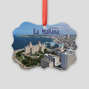 Havana (Cuba) Picture Ornament