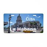 Havana (Cuba) Aluminum License Plate