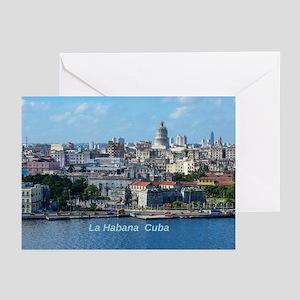 Havana (Cuba) Greeting Cards (Pk of 10)