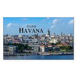 Havana (Cuba) Sticker (Rectangle)