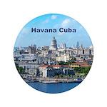 Havana (Cuba) Button