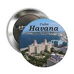 """Havana (Cuba) 2.25"""" Button (10 pack)"""