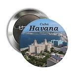 """Havana (Cuba) 2.25"""" Button"""