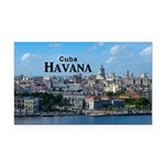 Havana (Cuba) Rectangle Car Magnet