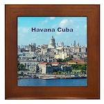 Havana (Cuba) Framed Tile