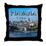 Havana (Cuba) Throw Pillow