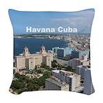 Havana (Cuba) Woven Throw Pillow