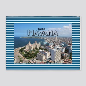 Havana (Cuba) 5'x7'Area Rug