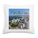 Havana (Cuba) Square Canvas Pillow