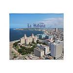 Havana (Cuba) Throw Blanket