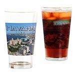 Havana (Cuba) Drinking Glass