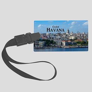 Havana (Cuba) Large Luggage Tag
