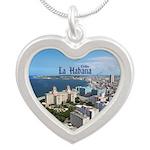 Havana (Cuba) Silver Heart Necklace