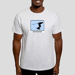 Wakeboarding (BLUE) Light T-Shirt