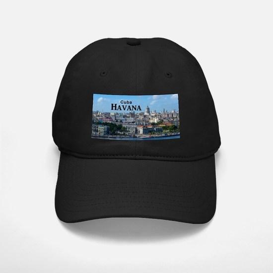 Havana (Cuba) Baseball Hat