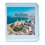 Havana (Cuba) baby blanket