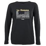Havana (Cuba) Plus Size Long Sleeve Tee