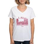 Havana (Cuba) Women's V-Neck T-Shirt