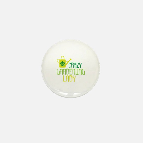 Funny Gardening Mini Button