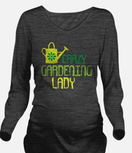 Cool Plant Long Sleeve Maternity T-Shirt