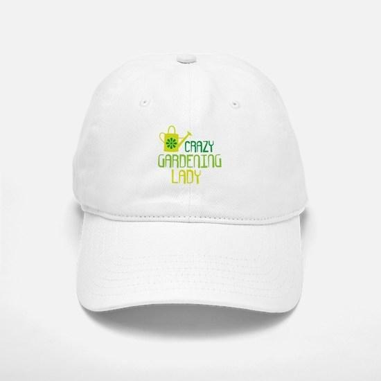Crazy Gardening Lady Baseball Baseball Cap