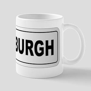 Edinburgh City Nameplate Mugs