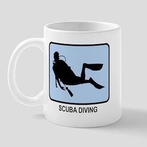 Scuba Diving (BLUE) Mug