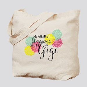 Gigi's Greatest Blessings Tote Bag