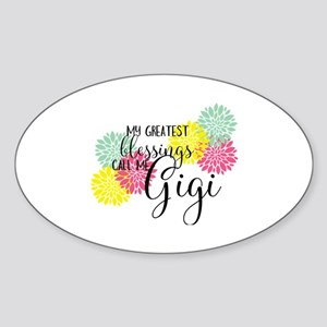 Gigi's Greatest Blessings Sticker