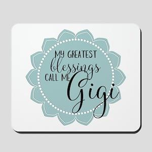 Gigi's Greatest Blessings Mousepad