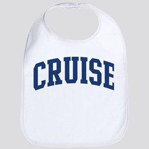 CRUISE design (blue) Bib