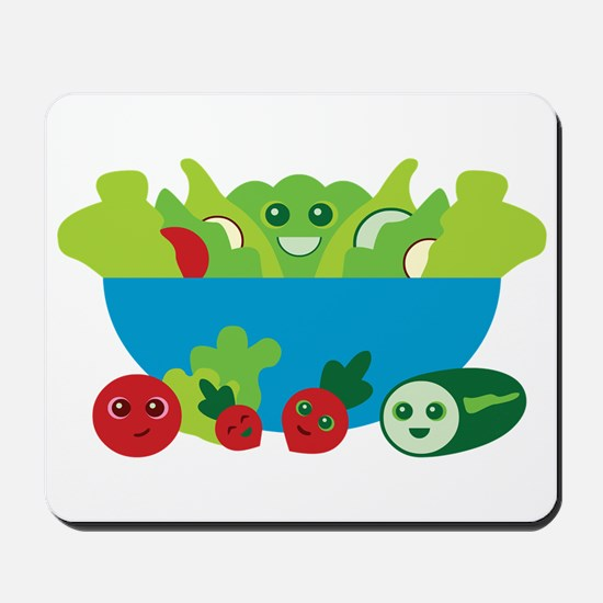Kawaii Salad Mousepad