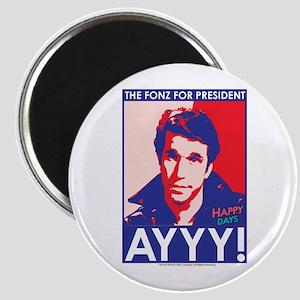 The Fonz for President Magnet