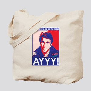 The Fonz for President Tote Bag