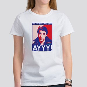 The Fonz for President Women's T-Shirt
