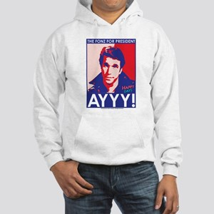 The Fonz for President Hooded Sweatshirt