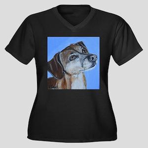 Happy Plus Size T-Shirt