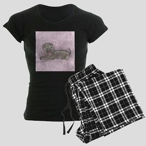 Hipster Dachshund Pajamas