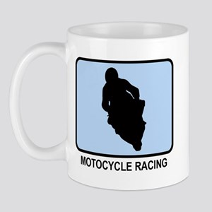 Motocycle Racing (BLUE) Mug