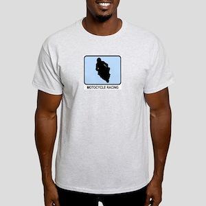 Motocycle Racing (BLUE) Light T-Shirt