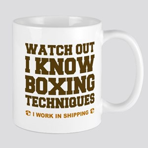 I Know Boxing Techniques Mug