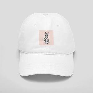 Hipster Cat Baseball Cap