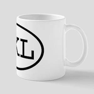 JKL Oval Mug