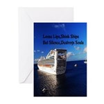 Silence Greeting Cards (Pk of 10)