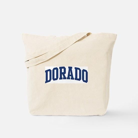 DORADO design (blue) Tote Bag