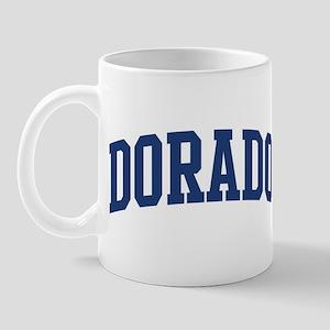 DORADO design (blue) Mug