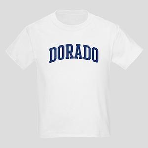 DORADO design (blue) Kids Light T-Shirt