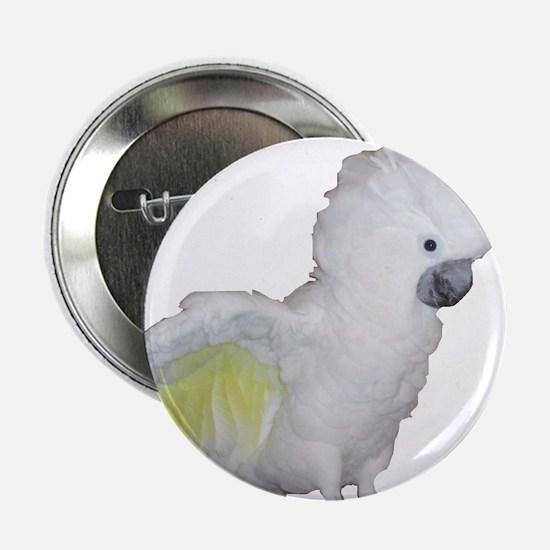 """Umbrella Cockatoo 2.25"""" Button"""
