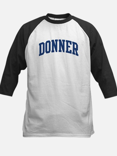 DONNER design (blue) Kids Baseball Jersey